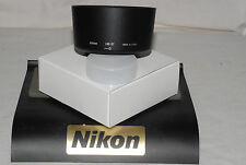 Genuine Nikon HB-37 LENS HOOD Bayonet fit 85 micr / VR 55-200 lens... UK Seller