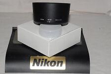 Genuino Nikon hb-37 Parasol Bayoneta compatible 85 MICR / VR 55-200 Objetivo