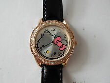 Hello Kitty Analog Round Watch for Women and teen New