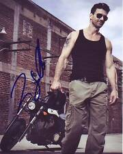 Frank Grillo Signed Autographed 8x10 Victory Motorcycle Photograph