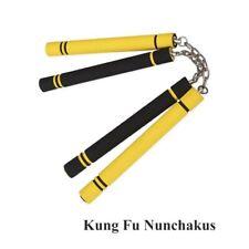 Adult Kids Karate Martial Art Safety Foam Nunchucks Stick Training Tools New