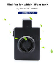 aquarium fish tank mini cooling fan hang on cooling chiller fan with USB charge