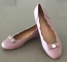 Gorgeous Blush Pink LUXOTTY Ballet Slip Ons with Small Wedge Heel Size 39