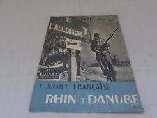 1ere armee francaise rhin et danube 19 mars 1915
