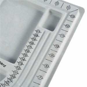 Plastic Bead Design Board Plastic Tray, Gray
