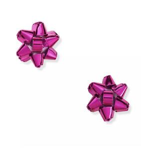 Kate Spade Bourgeois Bow Stud Earrings Pink