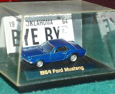 #64 ERTL/RC/ROUTE 66 1964 1/2 FORD MUSTANG COUPE w DISPLAY STAND & MORE