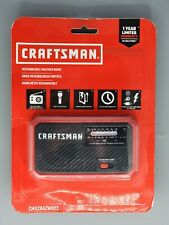 Craftsman Rechargeable Weather Radio w/ Flashlight + Charges Mobile Devices New