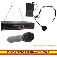 Qtx 171.810uk Vhn2 microfono Inalambrico de mano y diadema VHF