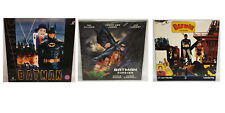 BATMAN : BATMAN THE MOVIE 1966, BATMAN 89, BATMAN FOREVER LASERDISCS (MLFP)