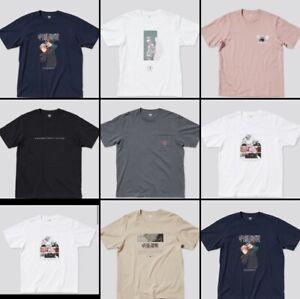 Uniqlo Jujutsu kaisen T-shirts Adult size 7types UT collection Brand New Japan