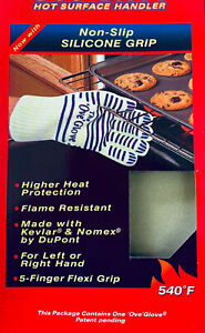 Oven Gloves BBQ Single Kitchen Heat Proof Silicon Mitts Hot Surface Handler