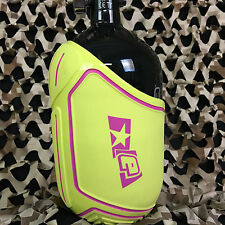 New Planet Eclipse Paintball Tank Cover - Medium (68ci - 72ci) - Gold/Pink