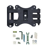 "Swivel Tilt Wall Mount Bracket For 10"" to 30"" LED LCD Plasma TV VESA 100x100 mm"