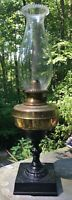 Antique Perkins & House Kerosene Non-Explosive Safety Lamp - 1870s
