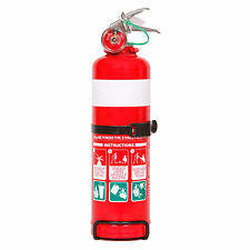 New 1 Kg Dry Chemical Fire Extinguisher. Ideal for Cars, Boats, 4WD etc