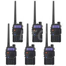 Us Store! 6 Pcs New Baofeng Uv-5R V/Uhf Dual Band Two Way Ham Radio Transceiver