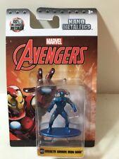 Marvel Avengers Stealth Armor Iron Man MV23 Nano Metalfigs Die Cast Figurine New