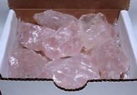 Rose Quartz Collection 1/2 Lb Natural Pink Crystal Gemstones