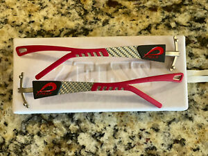 Pilla Outlaw X7 Black/Red Multi Color Carbon Frames