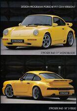 PORSCHE STROSEK 911 964 C2 4 Turbo 928 968 Tuning Prospekt Brochure 6