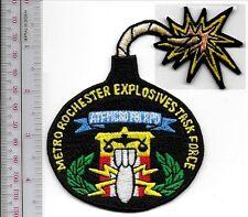 ATF New York  Metro Rochester Explosives Task Force ATF MCSO FBI RPD