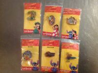 Disney Store LILO & Stitch Set of 6 Pins