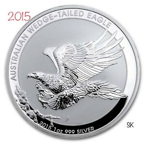 2015 Australian Wedge-Tailed Eagle Silver Coin