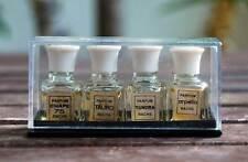 Set de 4 Perfumes Bachs Miniatura en caja de plástico. Años 70