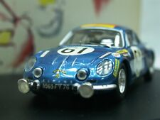 WOW EXTREMELY RARE Alpine Renault A110 1300S #61 24h LeMans 1968 1:43 Trofeu