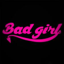 BAD GIRL RACER JDM STICKER CAR VAN WINDOW DECAL EURO FUNNY JAP MANGA DRIFT
