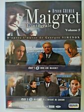 MAIGRET: I'INTEGRALE VOLUME 5. In box 4