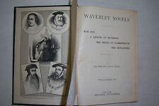 WAVERLEY NOVELS Walter Scott. VOL. 4, Rob Roy, Legend of Montrose, Monastery