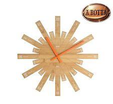 Orologio da Parete Alessi MDL05 Raggiante in Legno di Bambù Ø 48 cm - Wall Clock