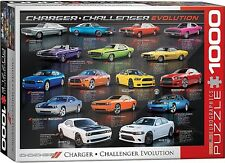 Dodge Charger / Challenger Evolution 1000 piece jigsaw puzzle 680mm x 490mm (pz)