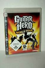 GUITAR HERO WORLD TOUR USATO BUONO SONY PS3 EDIZIONE ITALIANA PAL AT3 44411
