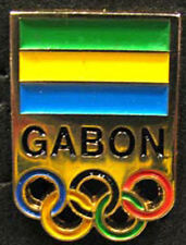 LONDON '12 Olympic GABON NOC Internal team - delegation pin
