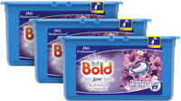 Bold 3 in 1 Lavender & Camomile Liquitabs 3 x 35 Laundry Washing Pods Detergent