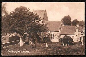 1919 COMBEPYNE CHURCH POSTCARD SEATON DEVON