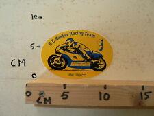 STICKER,DECAL K.C.BAKKER RACING TEAM 250-350 CC NO 45 JZ WEGRACE MOTO GP