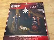 SEALED Janlynn Cross Stitch Kit - Blessed Mary, Joseph & Baby Jesus