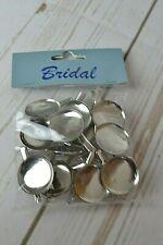 """1.5/"""" bridal Art floral corsage épingles boîte de 144 oasis craft pearl tête blanc"""