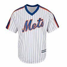 New York Mets Majestic Cool Base Throwback 1986 MLB Jersey Women's Sz 2XL Blank