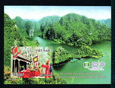 N.1053B-Vietnam-IMPERF-Block Trang An-Natural Heritage world- UNESCO (New Issued