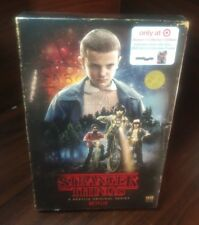 STRANGER THINGS :Season 1(Blu-ray+DVD+Collector Poster)VHS Packaging-NEW-FreeS&H