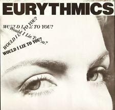 "THE EURYTHMICS would i lie to you PT 40102 uk rca 1985 12"" PS EX/EX"
