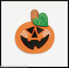Halloween Wooden Pumpkin Jack-o-Lantern Magnet Craft Kit for Kids ABCraft