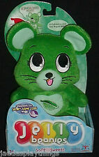 Jellybeanies Plush Mint Green Mouse MELANIE Toy in Box