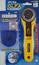 Olfa Rotary Cutter 45mm With Quilted Bear Replacement Spare Blade 45mm Brand New