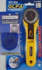 Olfa Rotary Cutter De 45 Mm Con Acolchado Oso Repuesto Hoja De Repuesto De 45 Mm Nuevo